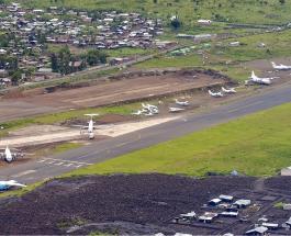 На востоке Демократической Республики Конго упал южноафриканский военный самолет
