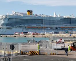 7000 человек заблокированы на круизном судне в Италии из-за болезни двоих китайцев