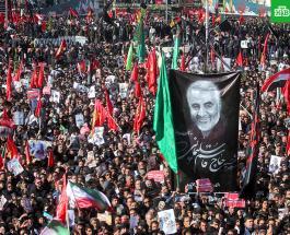 35 человек погибли и 48 получили травмы на похоронах Касема Сулеймани в Иране