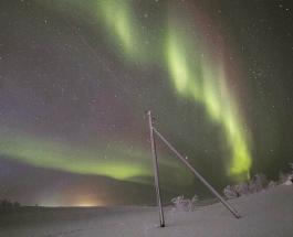 Финские ученые обнаружили новую форму северного сияния