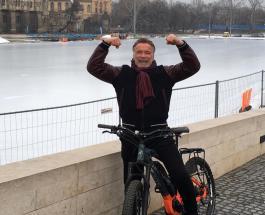 Арнольд Шварценеггер с дочерью стали участниками климатической конференции в Австрии