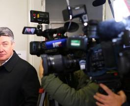 Экзит-поллы предвещают победу на президентских выборах в Хорватии Зорана Милановича