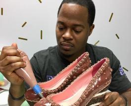 Сладкие туфли Криса Кэмпбелла: кондитер восхищает мир десертами необычной формы