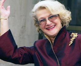 Светлана Дружинина прогулялась босиком по снегу: новое фото 84-летней актрисы