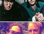 Джон Леннон и Шон Леннон с Джеймсом Маккартни