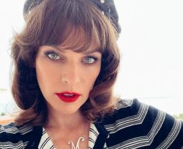 Милла Йовович стала мамой в третий раз: первое фото младшей сестры показала дочь актрисы