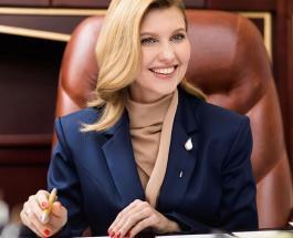Елена Зеленская отмечает 42-летие: жизнерадостная и скромная первая леди Украины