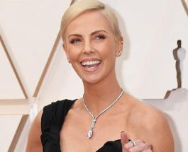 "Селфи Шарлиз Терон: фото актрисы на церемонии Оскар 2020 назвали ""произведением искусства"""