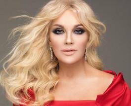 Таисия Повалий показала процесс нанесения макияжа для специального образа