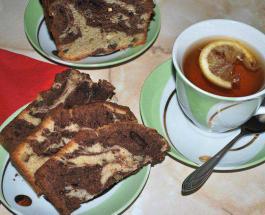 Мраморный торт: рецепт приготовления сладкого угощения для всей семьи