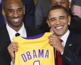 Барак Обама почтил память погибшего Коби Брайанта и его дочери Джанны