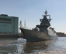 """В Баренцевом море провели испытания новейшего фрегата """"Адмирал Касатонов"""": видео"""