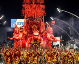 Карнавал в Рио 2020: яркие фото с открытия и интересные факты о грандиозном празднике