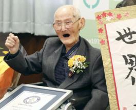 Самый старый в мире человек умер через 2 недели после получения сертификата Книги Гиннеса