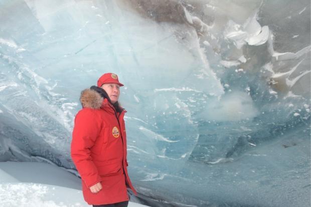 Путин в Арктике