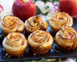 Розы из яблок: простой рецепт приготовления очень красивого и вкусного десерта