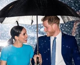Меган Маркл совершила первый выход с принцем Гарри после возвращения в Великобританию