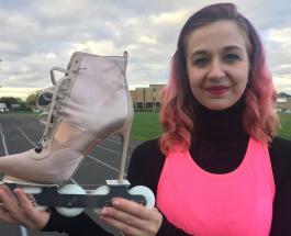 Мировой рекорд: женщина проехала 100 метров за 21,52 секунды в роликах на каблуках