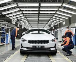 В Китае стартовало производство электромобилей Polestar 2