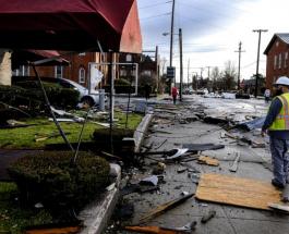 Последствия торнадо в США сняли на видео с высоты птичьего полета: печальные кадры