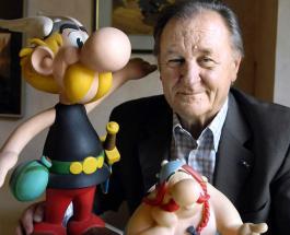 Скончался Альберт Удерзо - один из создателей комиксов про Астерикса
