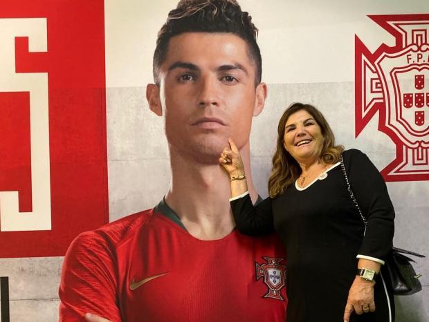 мама Роналду