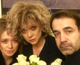 Разные образы Ольги Дроздовой: Дмитрий Певцов поздравил жену с днем рождения подборкой фото