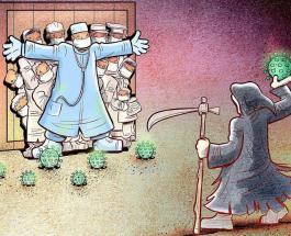 25 удивительных рисунков иранского художника: благодарность врачам за борьбу с COVID-19