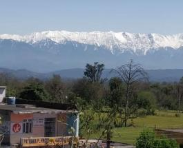 Впервые за 30 лет Гималаи можно увидеть с расстояния 200 километров