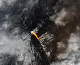 На Камчатке активизировался самый высокий действующий вулкан в Евразии