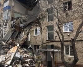В Подмосковье обрушилась часть дома из-за взрыва газового оборудования