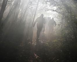У россиян, прятавшихся от коронавируса в глухом лесу, изъяли троих детей