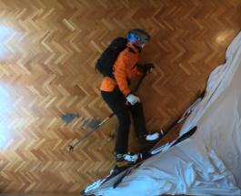 Как покататься на лыжах не выходя из гостиной: урок от испанца Филиппа Кляйна
