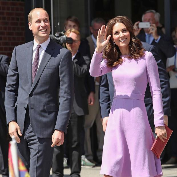 Почему Кейт Миддлтон сняла обручальное кольцо Принцессы Дианы