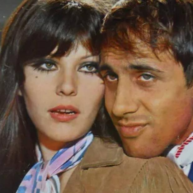 Адриано Челентано и жена
