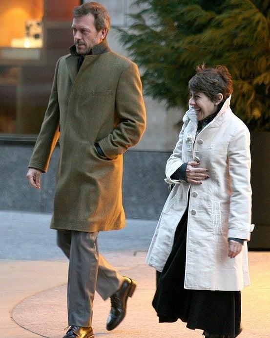 Хью Лори и его жена