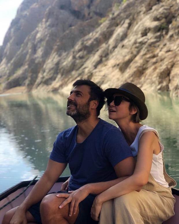 Барыш Кылыч с женой
