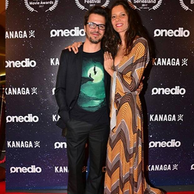 Мехмет Гюнсюр и его жена