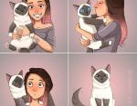 Кошки знают свое место