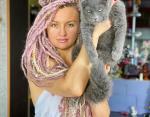 Татьяна и кот Гулливер