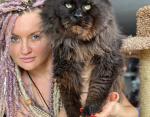 Татьяна и кот Евгений
