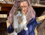 Татьяна и кошка Дайкири