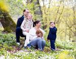 Принцесса Эстель с родителями и младшим братом