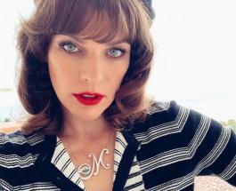 Голливудская актриса Мила Йовович показала родственников прошедших войну