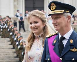 Наследная принцесса Бельгии Елизавета пройдет обучение в военной академии