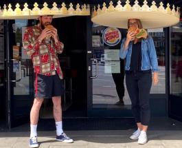 Ресторан быстрого питания в Германии раздал посетителям короны: фото и цель головного убора