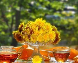 Чай из одуванчиков полезен для детоксикации организма: рецепт приготовления целебного напитка