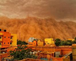 Мощная песчаная буря обрушилась на столицу Нигера: видео, похожее на кадры из фильма-катастрофы