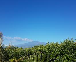 На Сицилии активизировался вулкан Этна: в небо поднялся 4,5-километровый столб пепла