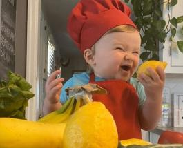 Самый юный шеф-повар собрал более миллиона подписчиков в Instagram: милые видео малыша